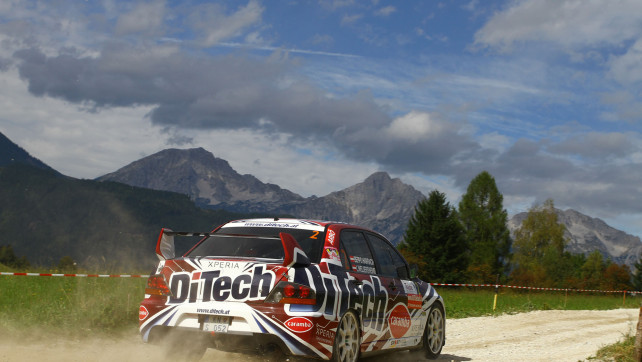 Beppo Harrach vor W4 Rallye