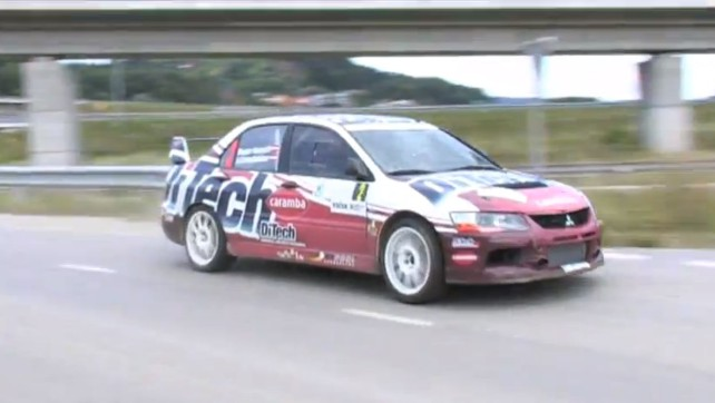 DiTech Racing Team Maribor Rallye 2011