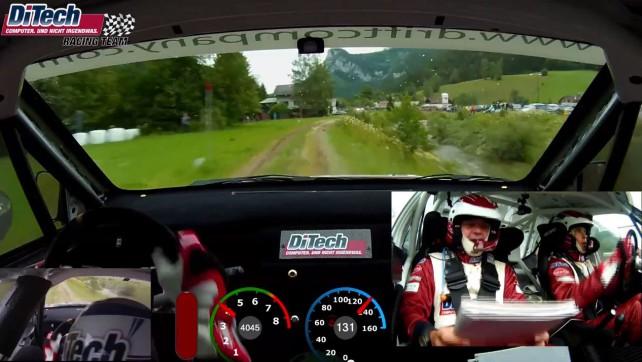 Schneebergland Rallye 2012 onboard