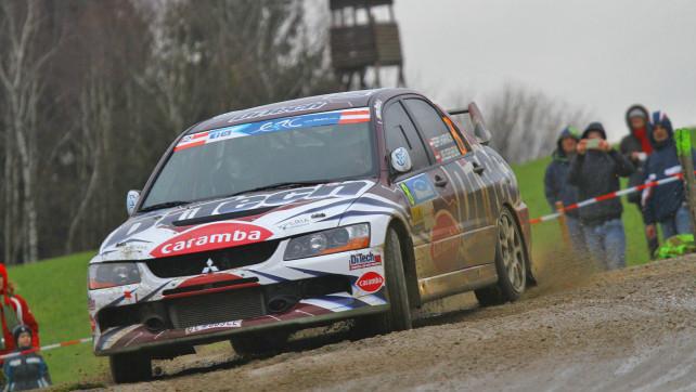 Beppo Harrach vor Lavanttal Rallye 2013